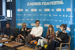 Laurenta, Weber, Matic, Sansevic, Mehadzic at Press conference ZFF 2013.; photographer Nina Ðurðeviå